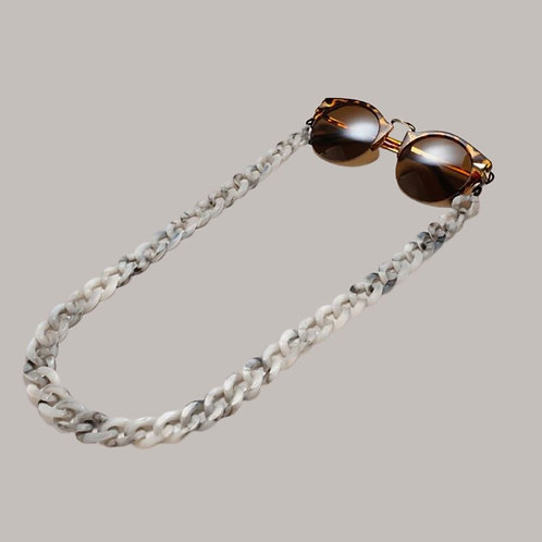 Grey Sunglasses Chain and Mask Garland