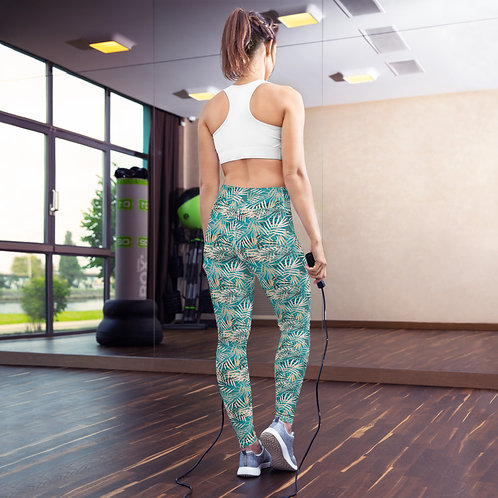 Florista - Designer Colourful High-Waisted Gym Leggings for Women