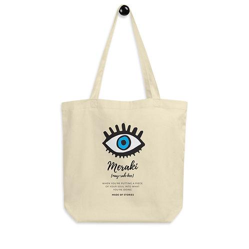 Meraki Tote Bag - Eco-friendly Canvas Bag