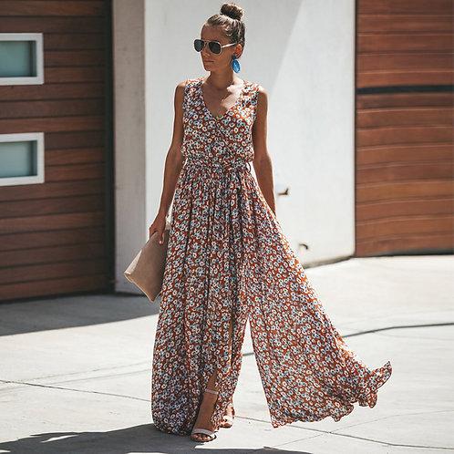 Castanha - Sleeveless Maxi Dress