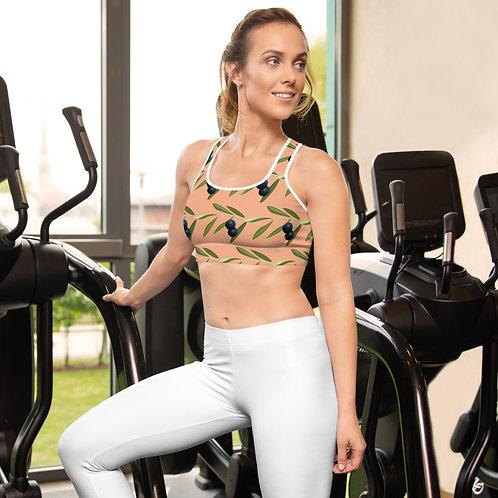 Gaia - Boho Style High Impact Padded Sports Bra for Women