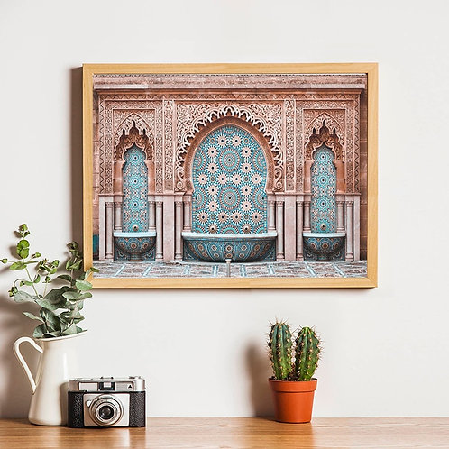 Morocco Arch  Wall Art - Canvas Poster