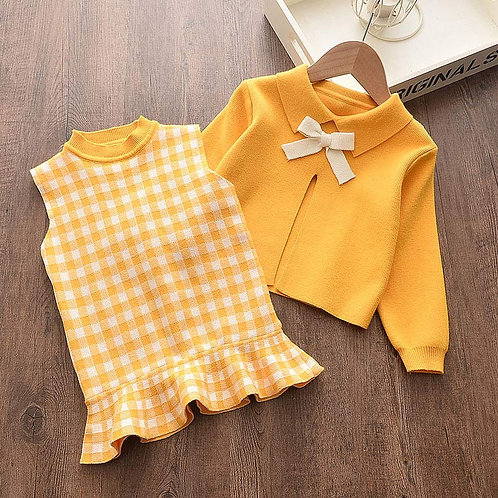 Sixeties - Baby Girls Clothes Knitted Outfit Sweet Clothing Set Gift ideas