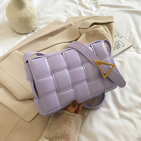 Athina Womens Lilac Handbag