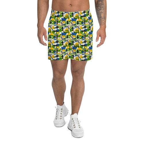 Brazil Designer Men's Athletic Long Shorts