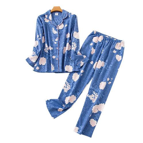 Bali - Flannel Womens Pyjama Sets Cotton Pajamas Womens PJ Staycation wear