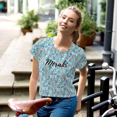 Creta - Meraki T-shirt - Greek island design t-shirt for women