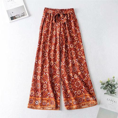 Sale - Boho flare pants - Staycation wear - Lounge wear