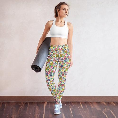 Regensburg Designer Women's Yoga High-Rise Leggings
