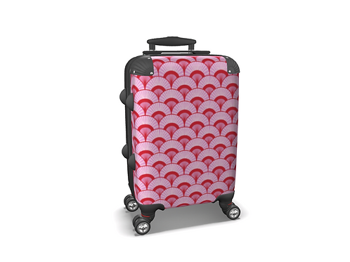 Rose City - Colourful Carry-on Luggage