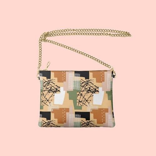 Rocinha Designer Bag - Handmade Real Leather Crossbody Bag