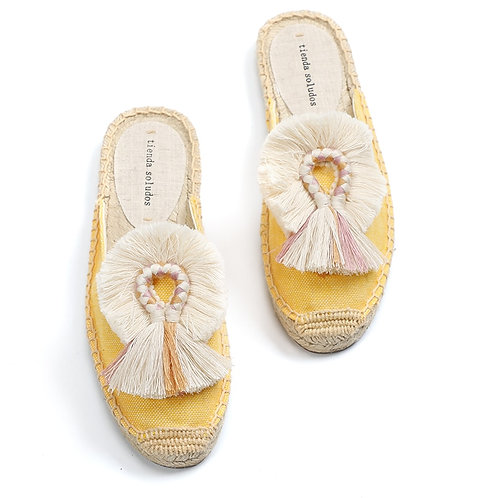 Praia - Colourful Espadrilles Loafers with Tassels