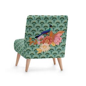 Passaro Roxo - Designer Bespoke Occasional Chair