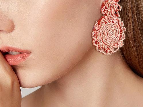 Pessego - Pink Earrings