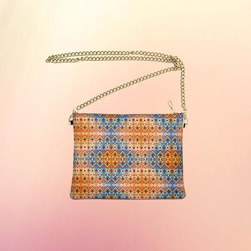 Caleidoscopio Designer Bag - Handmade Real Leather Crossbody Bag