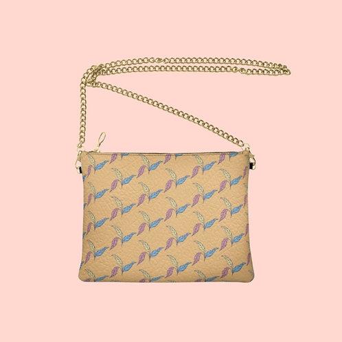 Laranja - Handmade Designer Real Leather Crossbody Bag