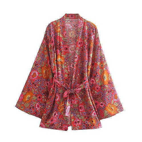 Bali Jeruk - Short Kimono Cardigan