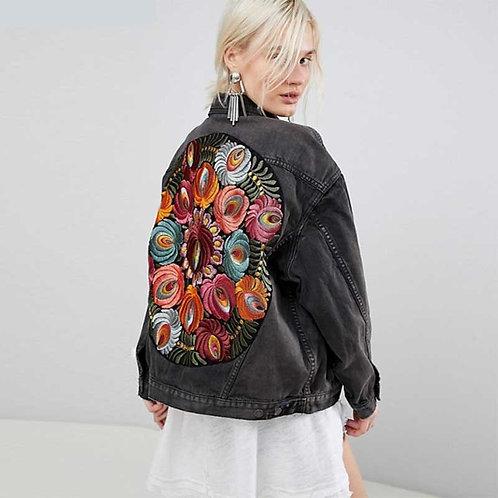 Souk - Embroidered Jean Jacket