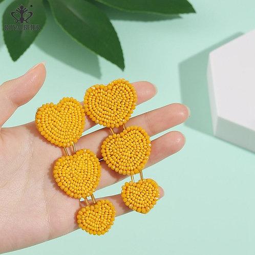 Amarela - Yellow Earrings