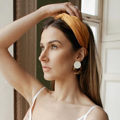 Madeira Branca - Vintage Style Earrings