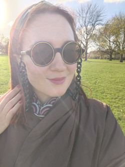 A sunny walk in the park
