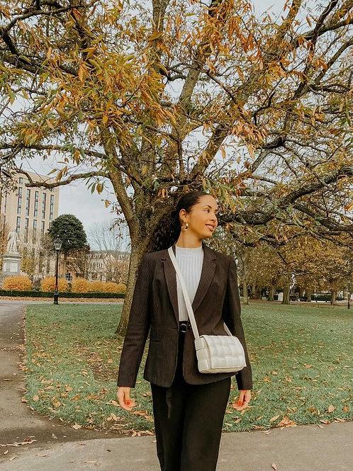 Athina Womens Beige Handbag