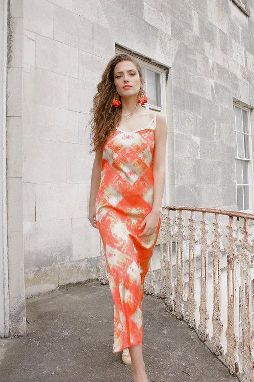 Amorgos - Luxury Satin Dress