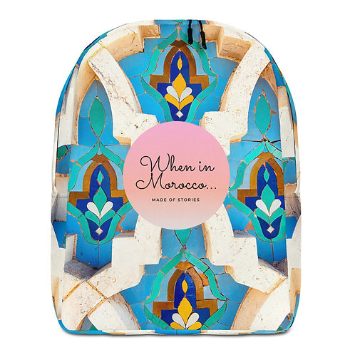 Casablanca - Boho Chic Colourful Backpack - Bag for Women