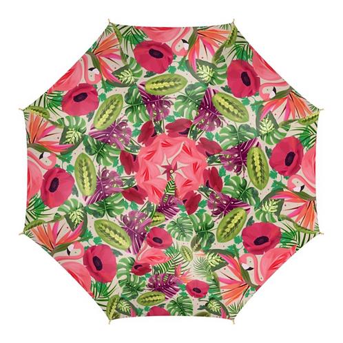 Flamingo - Colourful Umbrella