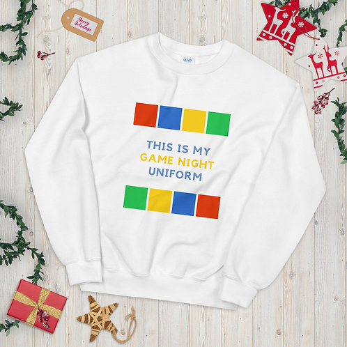 This is my Game Night Uniform Sweatshirt