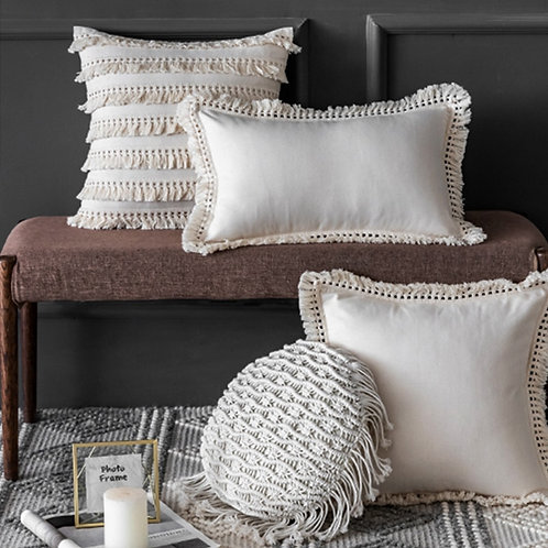 Morocco - Tassel Cushion Cover