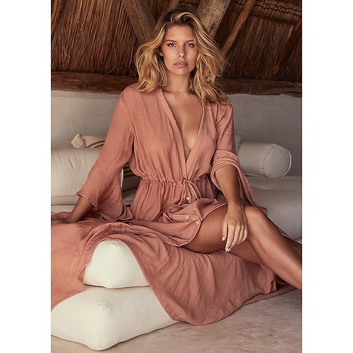 Verao - Tunic Dress with Flared Sleeves