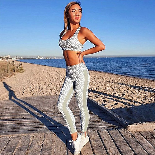 Bali - Womens Sportswear Set with Tank Top and Leggings