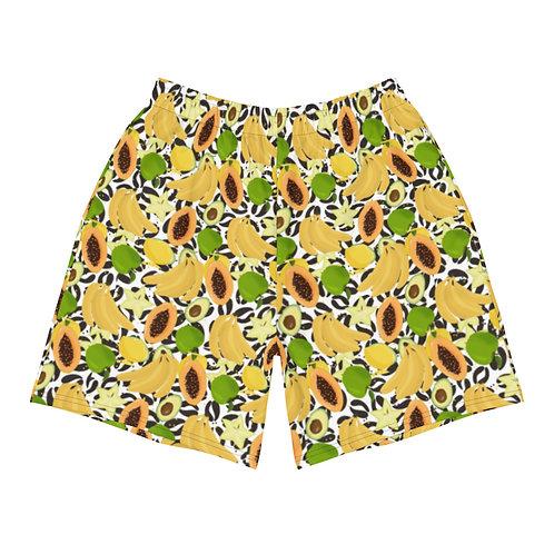 Graos - Mens Designer Athletic Long Shorts