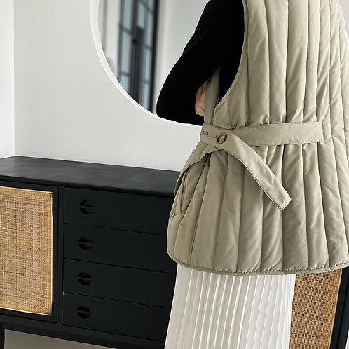 Leah - Warm Asymmetric Vest Coat for Women