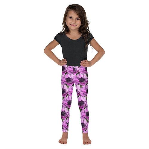 Flor Roxa - Designer Colourful Girls Leggings
