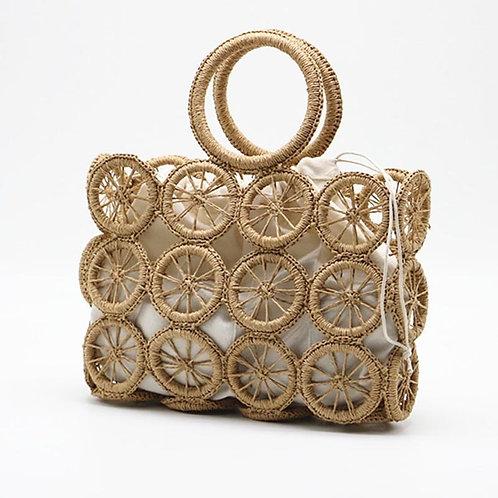 Ubud - Handmade Straw Bag - Rattan Bag Bohemian Handbag