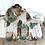 Thumbnail: Colourful Ladies Pajamas Cotton Pyjamas PJ Set Homewear Sleepwear