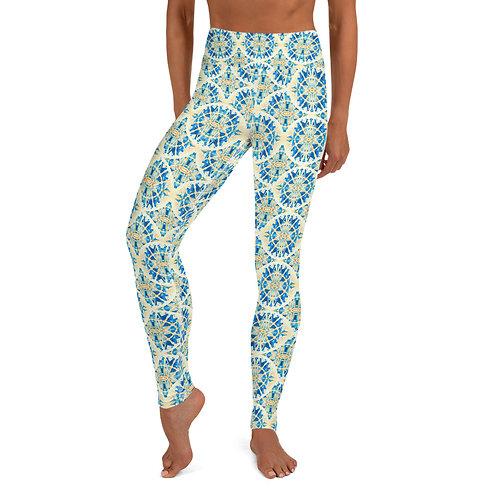 Made of Stories Tetouan - Designer High-Waist Yoga Leggings for Women