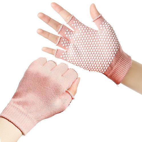 Bali - Non-Slip Fitness Gloves - Yoga Gloves and Socks Set Option