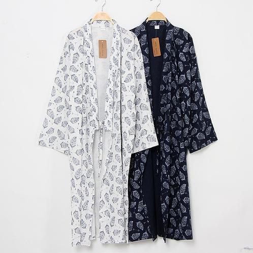 Jantan - Cotton Linen Kimono for Men