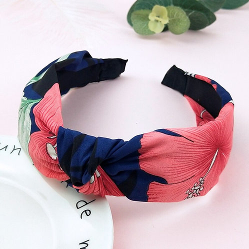 Colourful Turban Headband Knotted Head Band