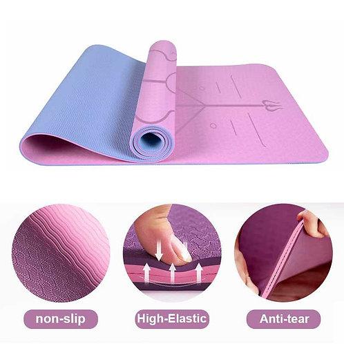 Bali - Anti-tear yoga mat - TPE Exercise mat