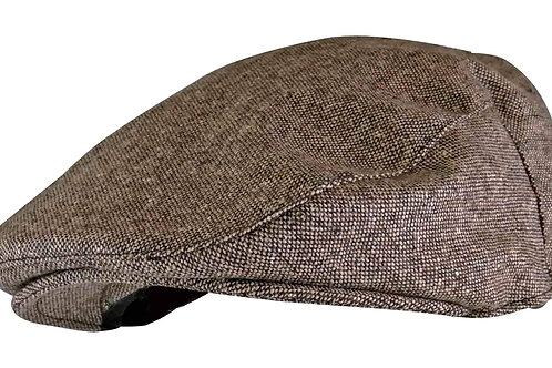 Men's Tom Franks Flat Cap Hat in Wool Blend