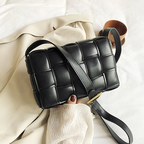 Athina Womens Black Handbag