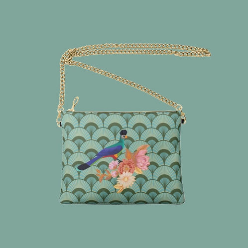 Possaro Roxo Designer Bag - Handmade Real Leather Crossbody Bag