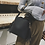 Thumbnail: Greta Charcoal Black Small Bucket bag with Tassels - Boho Style Bag