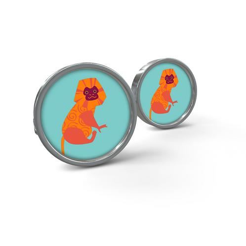 Monkey - Designer Cufflinks