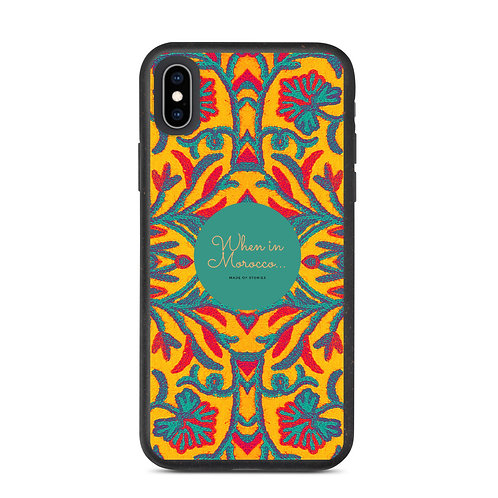 Marrakesh - Colourful Boho Style Eco-friendly and biodegradable iphone case