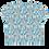 Thumbnail: Creta Cropped T-shirt - Personalised Greek island design tee for women